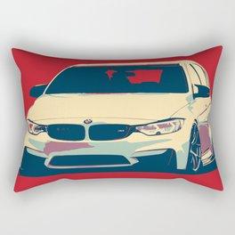 BMW 3SERIES ILUSTRATION Rectangular Pillow