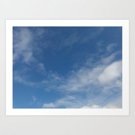 Melbourne Sky 03/06/2017 12:17:03PM 38/145 Art Print