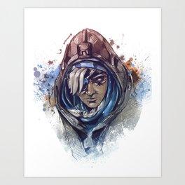 nano boost Art Print