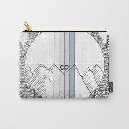 Geometric Colorado Art Carry-All Pouch