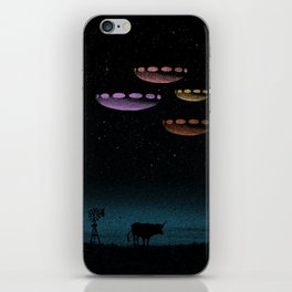Mysteries of the Night Sky iPhone Skin