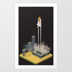liftoff Art Print