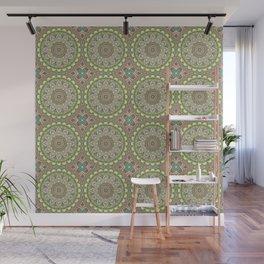 Boho Soft Mandala Lace Wall Mural