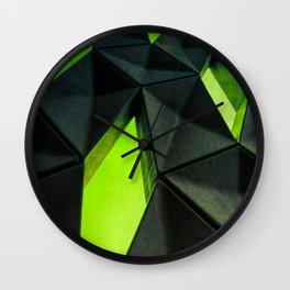 Dark Kryptonite by Brian Vegas Wall Clock