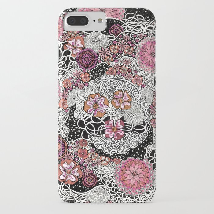 Tangled up in Blooms iPhone Case