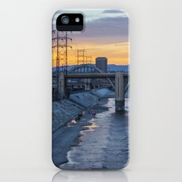 Sunset on 6th iPhone Case
