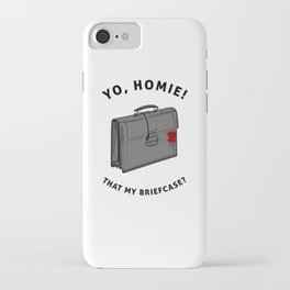 Yo, Homie That My Briefcase? Collateral Movie Quote iPhone Case