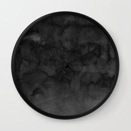 Black Ink Art No 4 Wall Clock