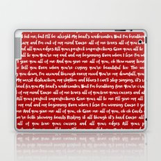 All of me song Laptop & iPad Skin