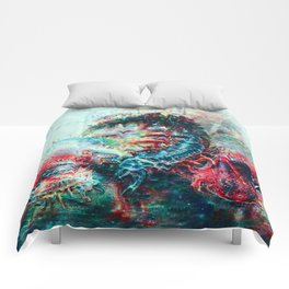 Sci-Fi Daymare Comforters