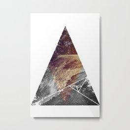 Tri-Mou Metal Print