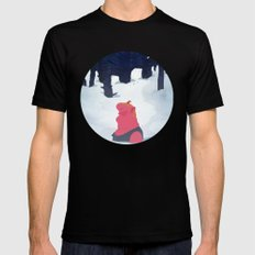 the age of curious Mens Fitted Tee MEDIUM Black