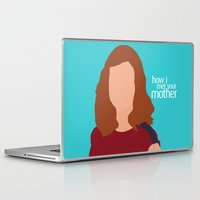 himym Laptop & iPad Skins featuring Lily Aldrin HIMYM by Rosaura Grant