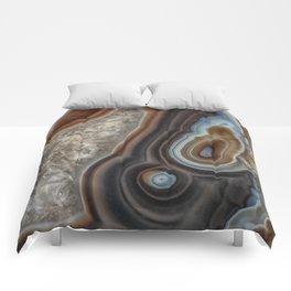 Mocha swirl Agate Comforters