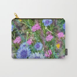 Cornflower Party Carry-All Pouch