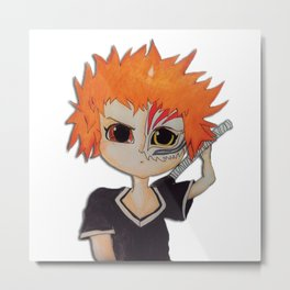 Baby ichigo Fan Art -Bleach Metal Print