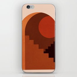 Abstraction_SUN_HOME_MInimalism_001 iPhone Skin