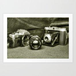 Classic Cams  Art Print