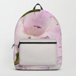 Branch of gladiolus flowers Backpack