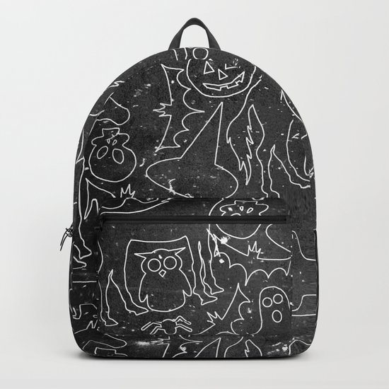 Halloween Spook Unicorn V02 Backpack