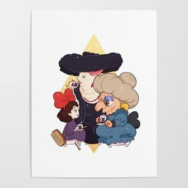 Witch Tea Poster
