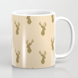 Stag Head Pattern  Coffee Mug