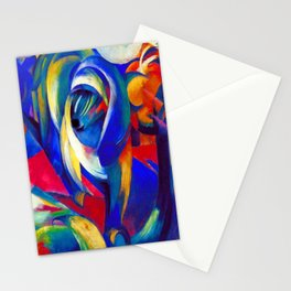 Franz Marc The Mandrill Stationery Cards