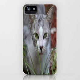 Emerald Eyes iPhone Case
