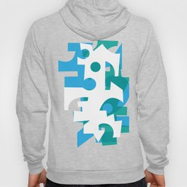 Abstract Rooster by Siavash Yaghoubi Hoody