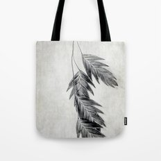 black and white oats Tote Bag