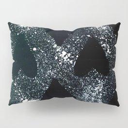 Black Heart Pillow Sham