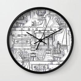Engineered Sketch Wall Clock