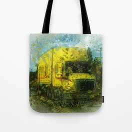 The Delivery  - Freight Truck Tote Bag