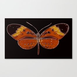 Untitled Butterfly 3 Canvas Print