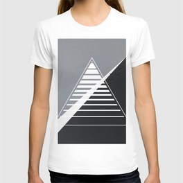 London - triangle line T-shirt