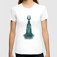 bioshock infinite T-shirts featuring Bioshock - Andrew Ryan and The Lighthouse by Art of Peach