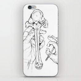 Holding Skeletons iPhone Skin