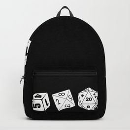 RPG Dice D20 Game Boardgame CUBE CHAIN Dragons Gaming Gifts Backpack