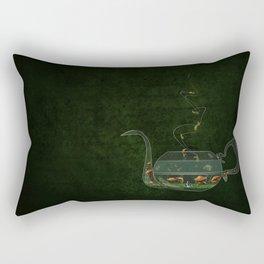 Mad for Tea Rectangular Pillow