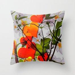 Cabsink16DesignerPatternRCSV Throw Pillow