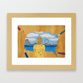 DopeHair6 Framed Art Print