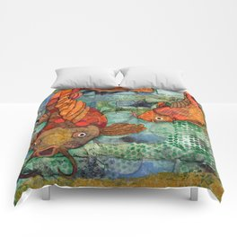Koi Pair Comforters