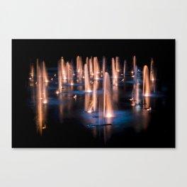 Sundance fountains Canvas Print