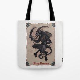 Merry Krampus Tote Bag