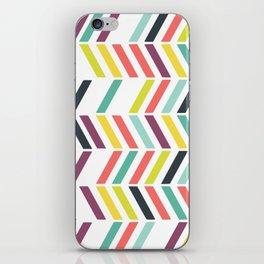Rainbow ziggy iPhone Skin