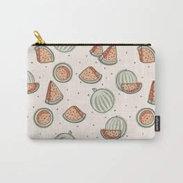 Watermelon Seamless Pattern Carry-All Pouch