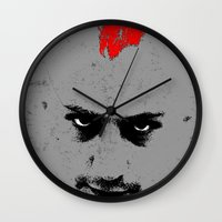 taxi driver Wall Clocks featuring Driver by Green'n'Black