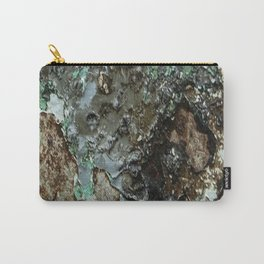 Weathered Iron rustic decor Carry-All Pouch