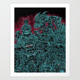 lapsang souchong Art Print