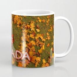 I Love Canada (Heart of Autumn) Coffee Mug